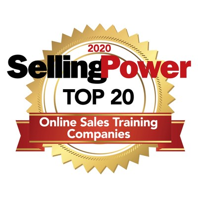 2020 Selling Power Top 20 Online Sales Training Companies