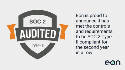 Eon Receives SOC 2 Type II Attestation for the Second Year in a Row