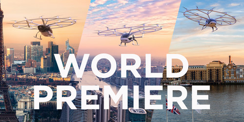 Volocopter opens reservations for electrical urban air taxis flights ©Volocopter