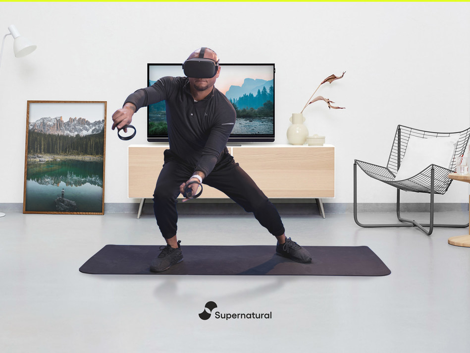 Supernatural allows users to workout in the world's most beautiful destinations within the imprint of their living room.