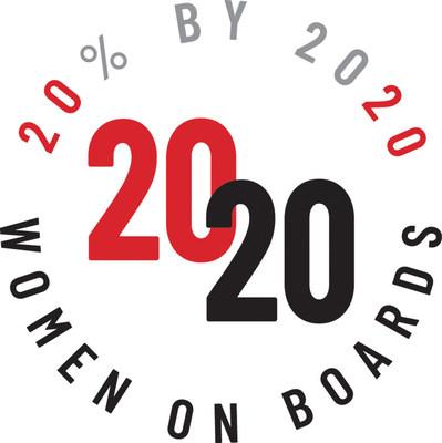 (PRNewsfoto/2020 Women on Boards)