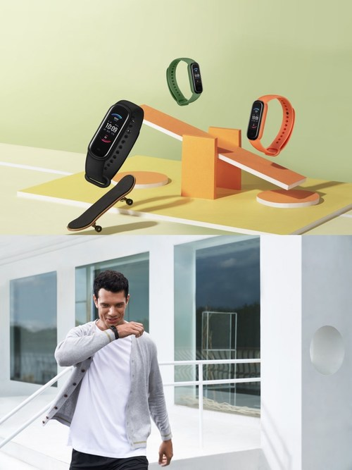 Amazfit Band 5 Launched with Blood Oxygen Saturation, 15-day Battery Life at 49.9USD on Sept. 21st, and Amazon Alexa Built-in