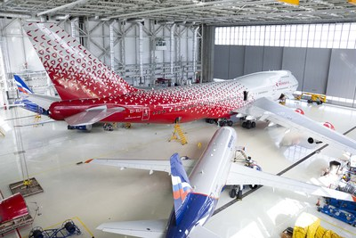 Sheremetyevo International Airport inaugurated its new hangar complex for aviation service and maintenance of Aeroflot Group aircraft on September 15.