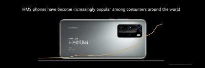 Os celulares HMS vem ganhando cada vez mais popularidade entre os consumidores de todos os países (PRNewsfoto/Huawei Consumer Business Group)