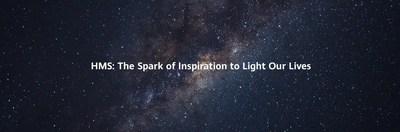 HMS: The Spark of Inspiration to Light Our Lives (HMS: Um lampejo de inspiração para iluminar as nossas vidas) (PRNewsfoto/Huawei Consumer Business Group)