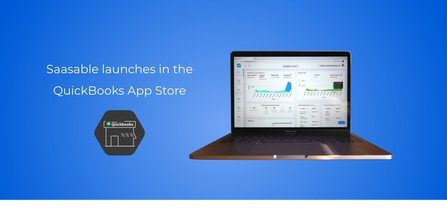 Saasable Launches in QuickBooks App Store