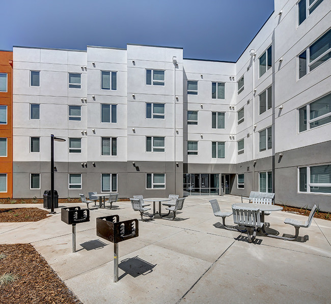 UC Davis welcomed its first students to the first phase of its new West Village community. Photo Image by Johnny Stevens.