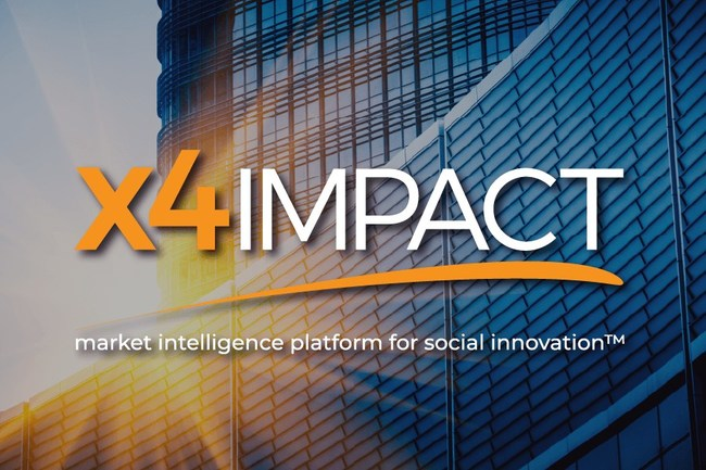 X4Impact, Market Intelligence Platform for Social Innovation