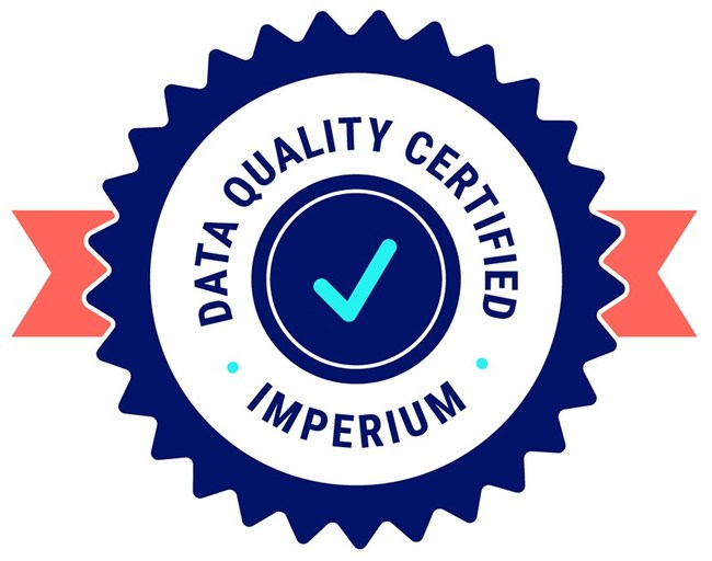 Learn about Imperium's certification here: www.imperium.com/about/certification