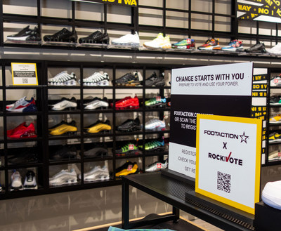 Foot Locker, Kids Foot Locker, Lady Foot Locker, Champs Sports and Footaction Transform More Than 2,000 Stores Into Registration Sites