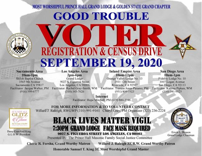 Voter Registration/Census Flyer