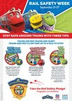 Union Pacific Teams with Safe Kids Worldwide and Chuggington to Educate Families During National Rail Safety Week