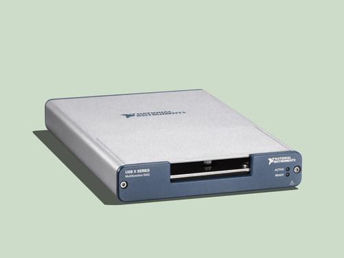 NI's USB X Series Multifunction DAQ is now available through Digi-Key Electronics