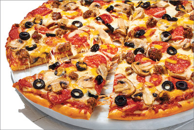 Papa Murphy's Cowboy Pizza with Happy Little Plants® pepperoni style topping