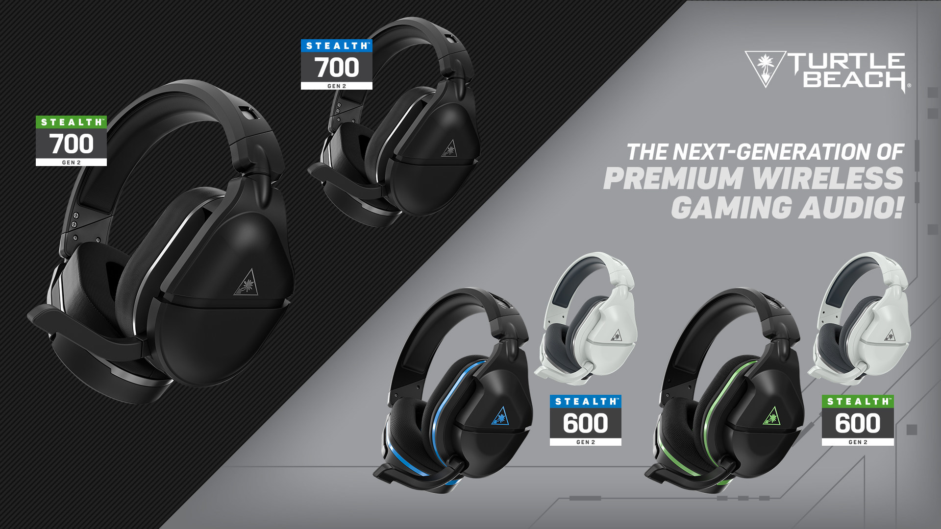 Turtle Beach's New Stealth 700 Gen 2 And Stealth 600 Gen 2 Headsets For Xbox  One, Xbox Series X | S, PlayStation 4, And PlayStation 5 Available At  Retail This Sunday, September 20, 2020
