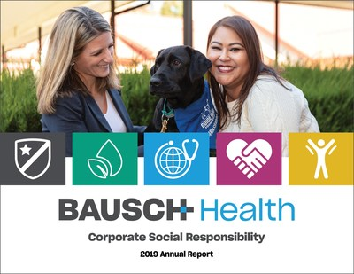 Bausch Health's annual Corporate Social Responsibility report highlights the company's ongoing commitment to responsible, ethical and sustainable operations.