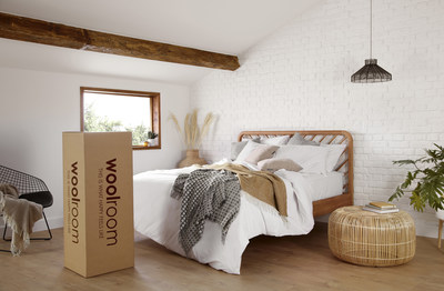 Woolroom, producers of the world's finest eco-conscious wool bedding, launches in the US, to dramatically & naturally improve Americans' sleep quality. Woolroom products create a hypoallergenic & air-purifying sleep environment that's comfortable & temperature regulating. Get 25% more deep, regenerative sleep with Woolroom compared to other materials. The first bedding company to offer fully traceable wool products, consumers will know exactly where their bedding came from, & it's biodegradable.
