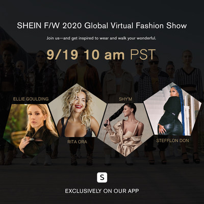 SHEIN Virtual Fashion Show 2020