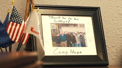 Camp Hope Needs Your Help. Texas Grand Ranch Will Match Your Donations, Up To $50,000.  Camp Hope is a place Veterans can find help and healing while enduring the effects of post-traumatic stress. Covid has slowed their donations to a critical level. They need your support.