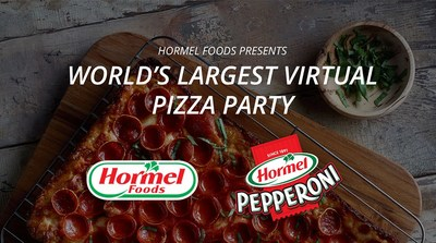 World's Largest Virtual Pizza Party