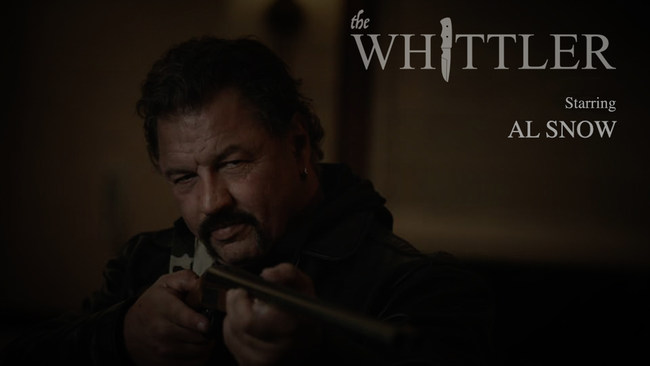 "Former WWE Superstar Al Snow starring as the lead in ""The Whittler"""