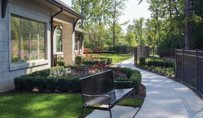 Blossom Springs prioritizes the safety and security of each and every resident. The grounds include secured walking paths, a tranquil courtyard,  well-tended, enclosed gardens and covered porches with comfortable seating areas that provide beautiful views and encourage indoor-outdoor living.