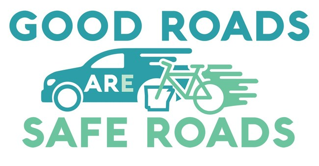 Good Roads are Safe Roads Logo