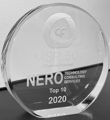 Nero Consulting has been named as one of the world's premier managed service providers on the prestigious 2020 annual Channel Futures MSP 501 rankings.