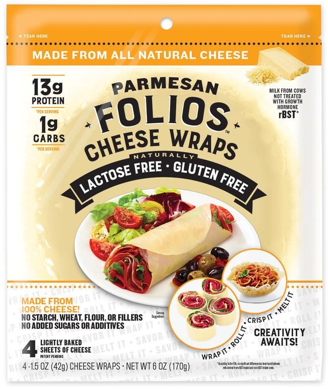 Folios Cheese Wraps Parmesan