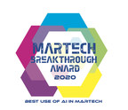 Rokt Recognized for Innovation in Artificial Intelligence with 2020 MarTech Breakthrough Award