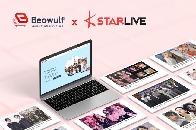 Beowulf and KStarLive, global leading K-pop and K-drama media company, agreed to jointly develop a platform to connect K-stars with their fans around the world