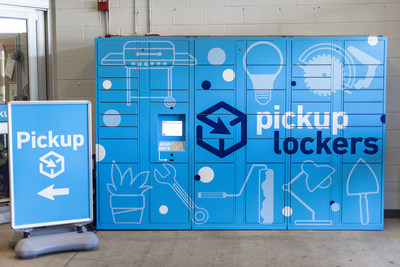 Lowe's announces plans to install pickup lockers at all U.S. stores by the end of March 2021.