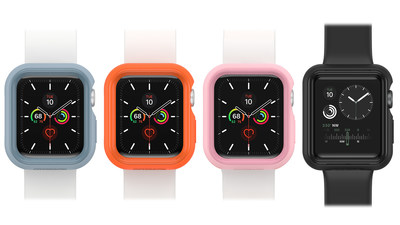OtterBox introduces EXO EDGE, designed for the new Apple Watch Series 6 and Apple Watch SE. EXO EDGE is a sleek case designed to keep your device protected during daily life and extraordinary adventures.