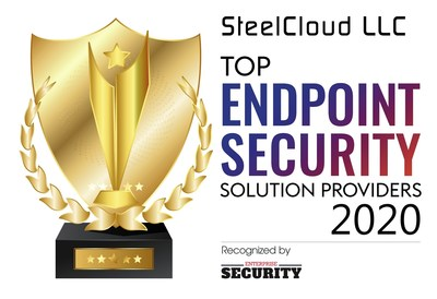 SteelCloud LLC Awards - Top Endpoint Security Solution Providers - 2020