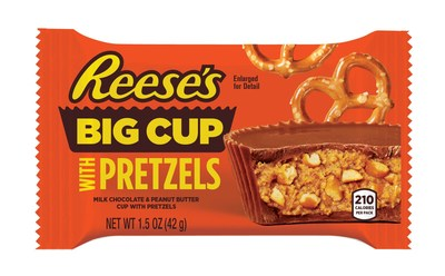 Reese's Big Cups with Pretzels