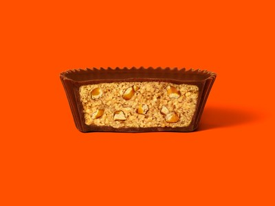 Reese's Big Cups with Pretzels: Inside Look!