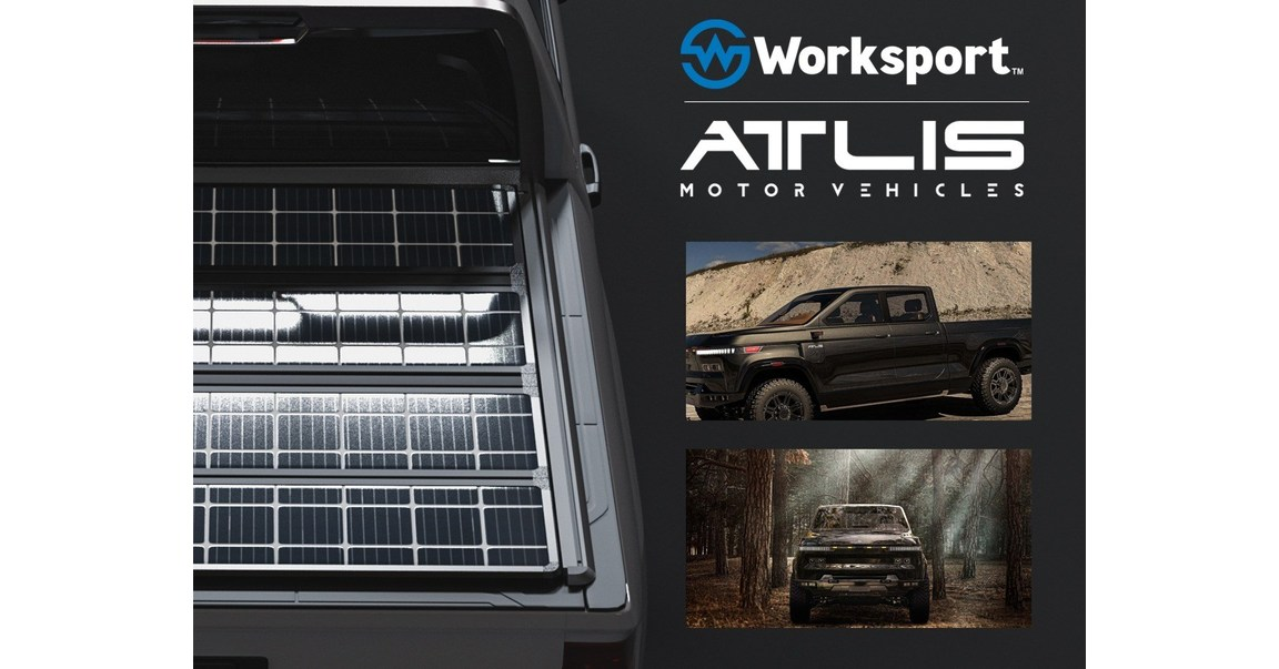 MESA, Ariz., Sept. 22, 2020 /PRNewswire/ -- ATLIS Motor Vehicles has entered into an agreement with Worksport Ltd aimed at configuring the TerraVis™ solar charging system as an OE accessory for the highly anticipated, technologically advanced Atlis XT electri…
