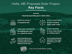 Poland Spring Aims to Advance Maine's Carbon Emission Reduction Goals with Proposed Solar Energy Project at Hollis Factory