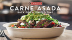 Chipotle's Carne Asada is Back on the Menu