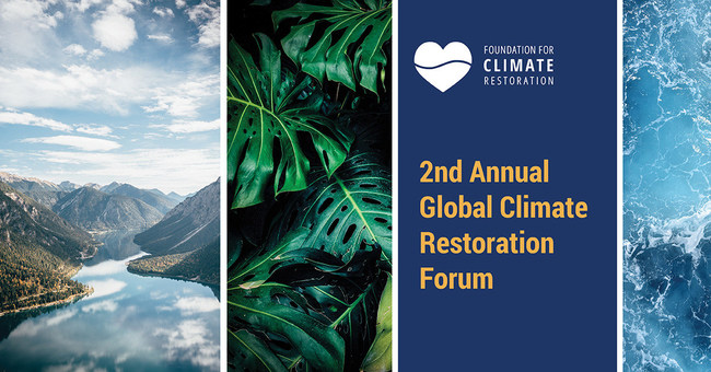 Second Annual Global Climate Restoration Forum
