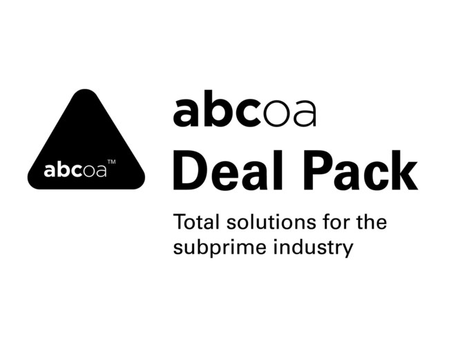 ABCoA Deal Pack - Total solutions for the subprime industry