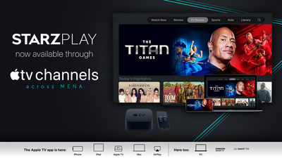STARZPLAY is now available through Apple TV channels across MENA