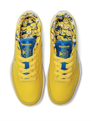 Minions x Reebok Classic C Minions - available globally October 1, 2020.