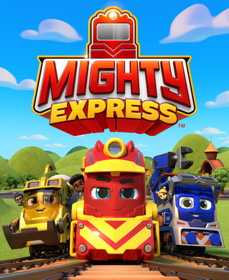 Spin Master Debuts New Preschool Series Mighty Express™ (CNW Group/Spin Master)