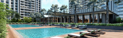 Panchshil Towers Clubhouse Render