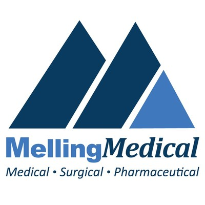 This is the MellingMedical M logo. MellingMedical is a leading federal supplier of medical supplies, surgical devices and pharmaceuticals to veterans. MellingMedical provides access to innovative and cost-effective healthcare solutions to all veterans nationwide.
