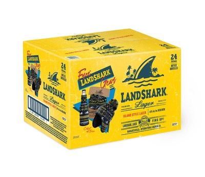 LandShark Winter 2020 In Case (CNW Group/Waterloo Brewing Ltd.)