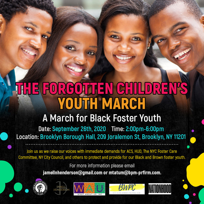 The Forgotten Children's March, A March for Black Foster Youth