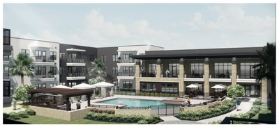 Rendering of Inspirations at the Town Center.