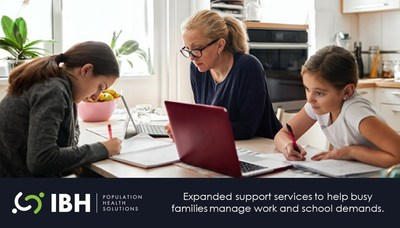 IBH offers expanded services for parenting and childcare to help families with work and school transition during the pandemic, and every day moving forward.